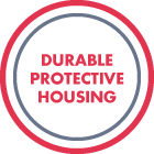 Durable protective housing